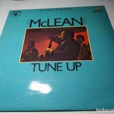 Discos de vinilo: LP - VINILO - JACKIE MCLEAN SEXTET – TUNE UP - – RE-19 S ( VG+ -VG) VERSION ESPAÑOLA - 1979. Lote 202277081