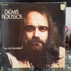 Discos de vinilo: *** DEMIS ROUSSOS - MY ONLY FASCINATION - LP AÑO 1974 - LEER DESCRIPCIÓN. Lote 202298700