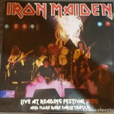Dischi in vinile: IRON MAIDEN – LIVE AT READING FESTIVAL 1980 AND MORE RARE EARLY TRACKS -LP-. Lote 221892946