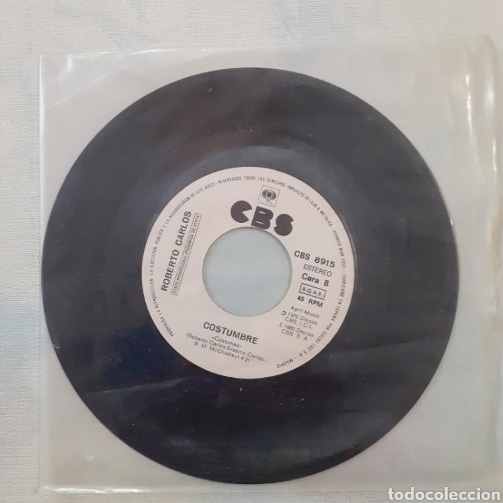 ROBERTO CARLOS. DESAHOGO. CBS 8915. ESPAÑA 1980. SIN FUNDA. DISCO VG+. (Música - Discos - Singles Vinilo - Grupos y Solistas de latinoamérica)