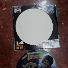 Discos de vinilo: MICHAEL JACKSON AND JACKSON 5- 14 GREATEST HITS-LP PICTURE DISC. Lote 244978120