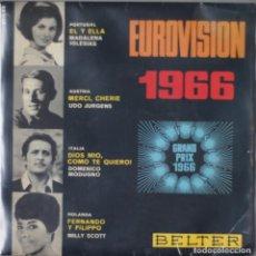 Discos de vinilo: EUROVISION 1966// EP// 1966// BELTER. Lote 202348818