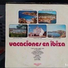 Discos de vinilo: *** VACACIONES EN IBIZA (VERSIONES Y ARTISTAS ORIGINALES) - LP AÑO 1971 - LEER DESCRIPCIÓN. Lote 202350483