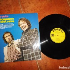 Discos de vinilo: LO MEJOR DE LOS HERMANOS CALATRAVA LP VINILO DEL AÑO 1977 IMPACTO CONTIENE 10 TEMAS. Lote 202354582