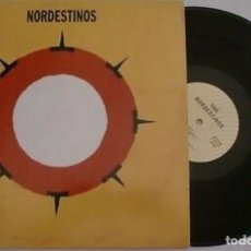 Discos de vinilo: NORDESTINOS SPAIN MINI LP 5 CANCIONES MAXI ORIGINAL 1991 BIENAL 91 THE NORDESTINOS G33G POP ROCK VER. Lote 202356421
