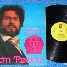 Discos de vinilo: SIMON PEDRO SPAIN LP 1981 ¡HOMBRE...DESPIERTA YA! SPANISH POP LABEL PRIVADO BUEN ESTADO RARO !!. Lote 202367762
