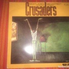 Discos de vinilo: CRUSADERS: NIGTH LADIES MEGASTREET. Lote 202370450
