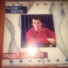 Discos de vinilo: PAUL J QUALLEY: PLEASE, PLEASE. Lote 202370961