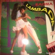 Discos de vinilo: KAOMA: LAMBADA VERSIÓN ORIGINAL. Lote 202373045