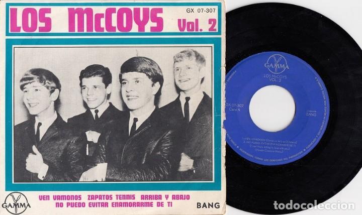 THE MCCOYS - COME ON LET'S GO - EP DE 4 CANCIONES EDITADO EN MEJICO (Música - Discos de Vinilo - EPs - Pop - Rock Internacional de los 50 y 60)