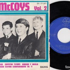 Discos de vinil: THE MCCOYS - COME ON LET'S GO - EP DE 4 CANCIONES EDITADO EN MEJICO . Lote 202394132