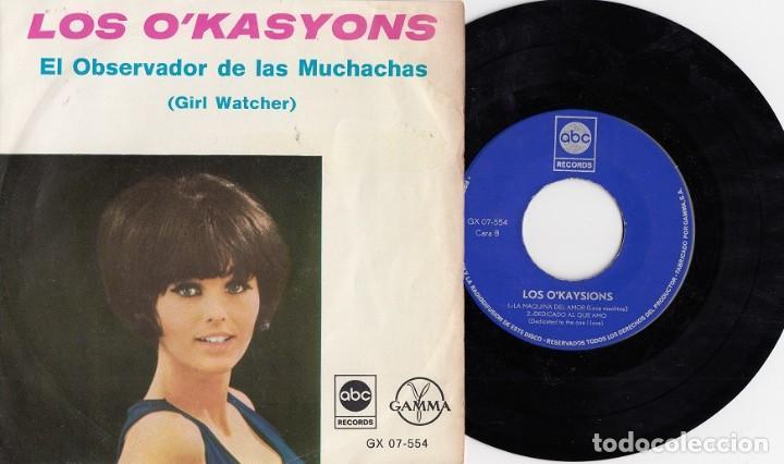 THE O'KAYSIONS - GIRL WATCHER - EP DE 4 CANCIONES EDITADO EN MEJICO - DEEP SOUL (Música - Discos de Vinilo - EPs - Funk, Soul y Black Music)