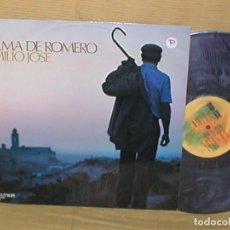 Discos de vinilo: EMILIO JOSE SPAIN LP ALMA DE ROMERO 1976 SELLO BELTER EXCELENTE ESTADO POP CANTAUTOR MIRA !. Lote 202408581