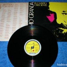 Discos de vinilo: JERONIMO GRANDA SPAIN LP 1986 EL CUARTO CRECIENTE SPANISH FOLK SELLO RONCON RARO EXCELENTE ESTADO. Lote 202409986