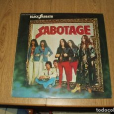Discos de vinilo: BLACK SABBATH LP SABOTAGE. Lote 202419281