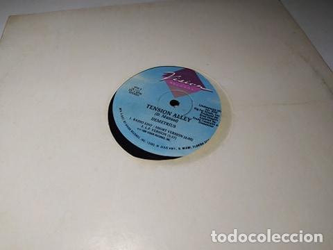 LP - VINILO - DEMETRIUS ?– TENSION ALLEY - VR 1215 ( VG+ - G) USA - FUNDA GENERIC (Música - Discos - LP Vinilo - Rap / Hip Hop)