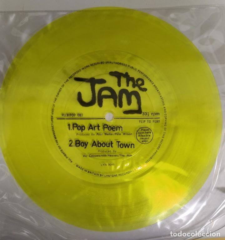 THE JAM - POP ART POEM / BOY ABOUT TOWN (FLEXI, 7, S/SIDED, YEL) REVISTA FLEXIPOP UK (Música - Discos de Vinilo - Singles - Pop - Rock Extranjero de los 80)