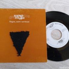 Discos de vinilo: MATAMALA DOS SINGLE NEGRE, CURT I ARRISSAT 1993. Lote 222627128