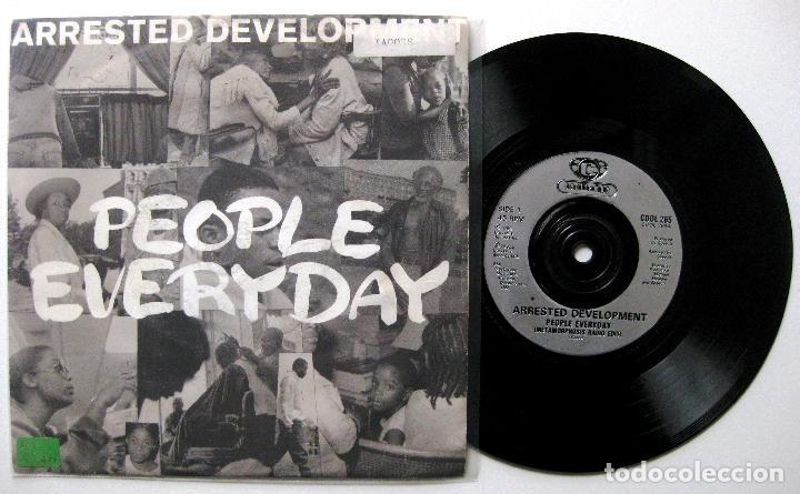ARRESTED DEVELOPMENT - PEOPLE EVERYDAY - SINGLE COOLTEMPO 1992 UK PROMO BPY (Música - Discos - Singles Vinilo - Rap / Hip Hop)