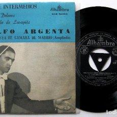 Discos de vinilo: ATAÚLFO ARGENTA - LA DOLORES / EL BARBERILLO DE LAVAPIES - EP ALHAMBRA 1962 BPY. Lote 202450768