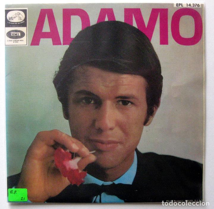 ADAMO - LE NEON +3 - EP LA VOZ DE SU AMO 1967 BPY (Música - Discos de Vinilo - EPs - Canción Francesa e Italiana)