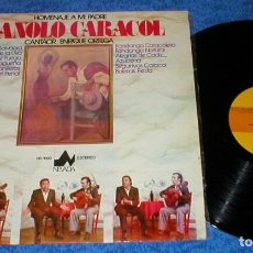 Discos de vinilo: ENRIQUE ORTEGA SPAIN LP 1976 HOMENAJE A MI PADRE MANOLO CARACOL FLAMENCO SELLO NEVADA BUEN ESTADO !!. Lote 202470768