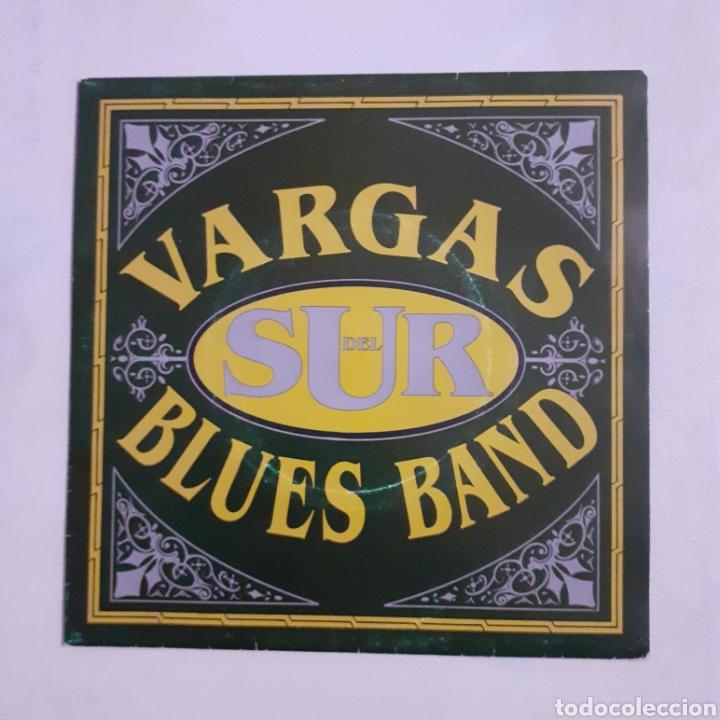 VARGAS BLUES BAND. DEL SUR. 3 CIPRESES 1C-0903-2. 1992 ESPAÑA. FUNDA VG++. DISCO VG++. (Música - Discos - Singles Vinilo - Grupos Españoles de los 90 a la actualidad)