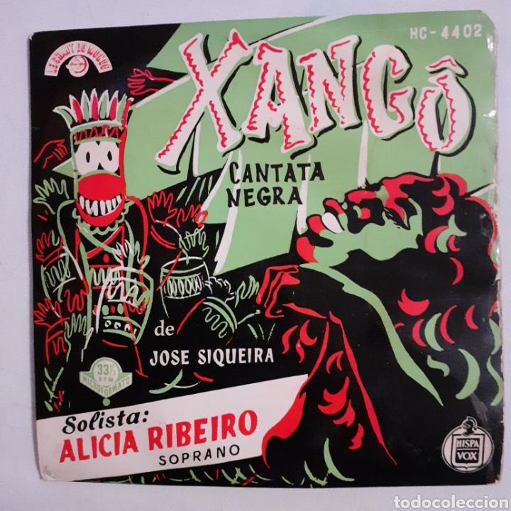 XANGO. CANTATA NEGRA. HISPAVOX HC-4402. 1963 ESPAÑA. FUNDA G. DISCO VG. (Música - Discos de Vinilo - EPs - Grupos y Solistas de latinoamérica)
