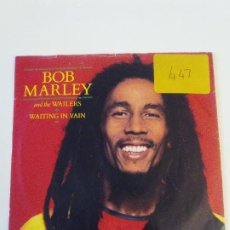 Discos de vinilo: BOB MARLEY & THE WAILERS WAITING IN VAIN / BLACKMAN REDEMPTION ( 1983 ISLAND UK ). Lote 202484165