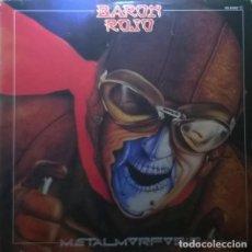 Discos de vinilo: LP METALMORFOSIS - BARON ROJO -ORIGINAL ANALÓGICO SPAIN 1983. Lote 202486258