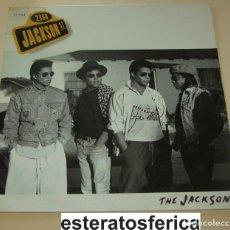 Discos de vinilo: THE JACKSONS - 2300 JACKSON ST - EPIC 1989 PROMO. Lote 202494512