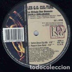 "Discos de vinilo: LES G.O. CULTURE - DARLA DIRLADADA (12""). Lote 202525600"
