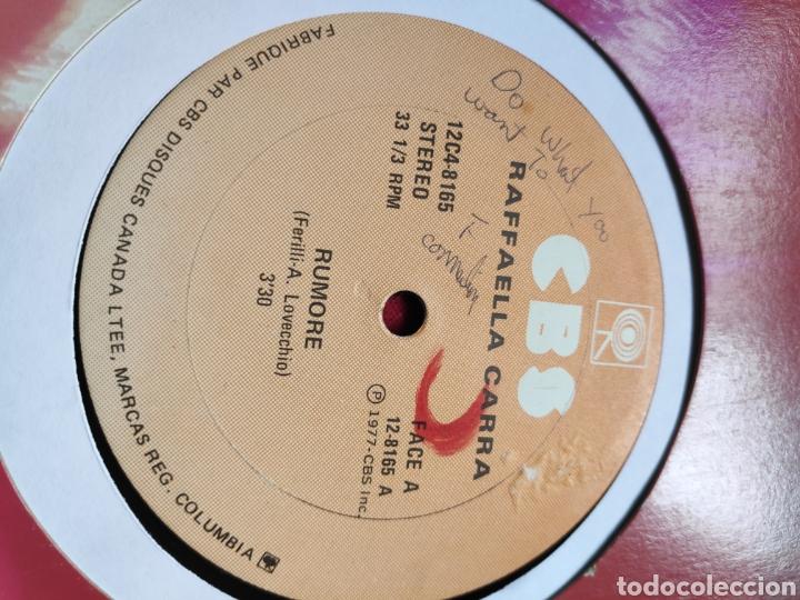 Discos de vinilo: Raffaella Carrá - Rumore - Edición Canadiense - 12 - Maxi - Foto 2 - 202526153