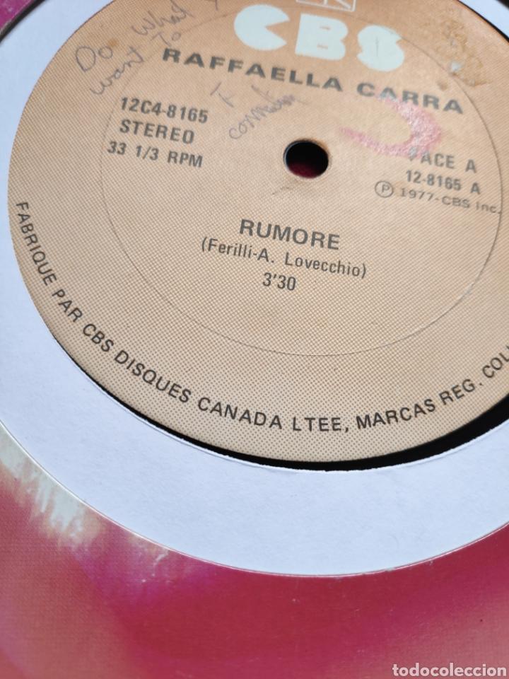 Discos de vinilo: Raffaella Carrá - Rumore - Edición Canadiense - 12 - Maxi - Foto 4 - 202526153