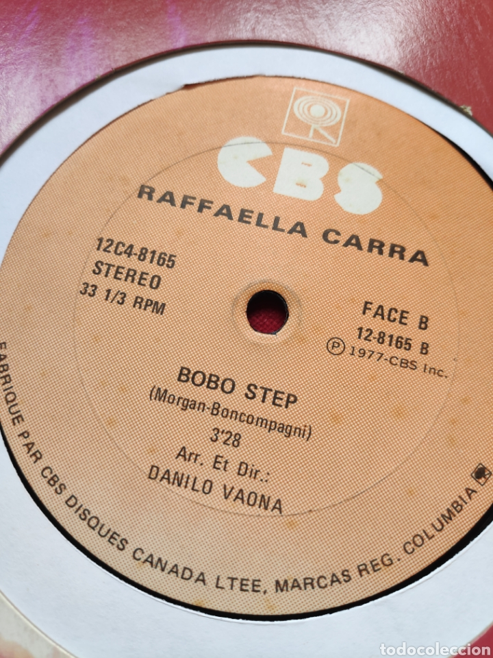 Discos de vinilo: Raffaella Carrá - Rumore - Edición Canadiense - 12 - Maxi - Foto 9 - 202526153