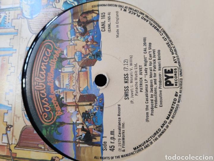 Discos de vinilo: Patrick Juvet - Vinilo americano 12 - Maxi - I love america + Swiss Kiss maxi - Ed. Americana - Foto 2 - 202528946