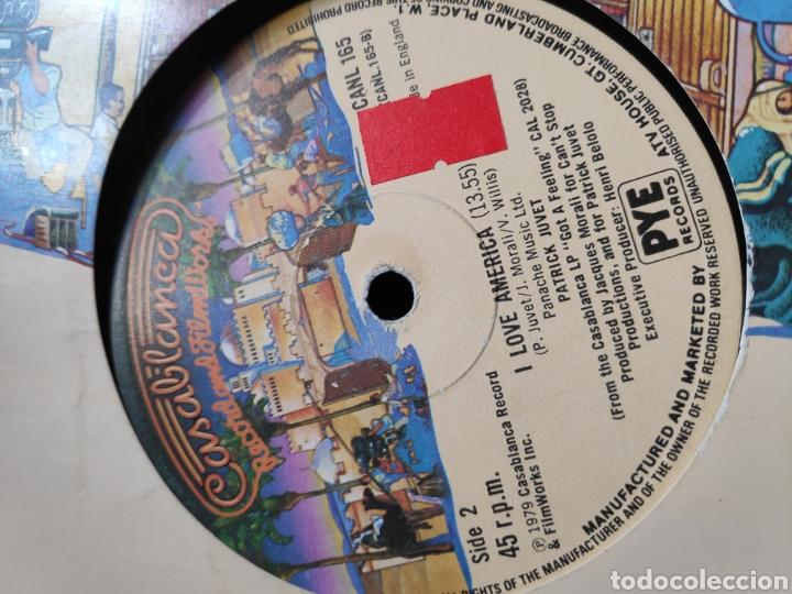 Discos de vinilo: Patrick Juvet - Vinilo americano 12 - Maxi - I love america + Swiss Kiss maxi - Ed. Americana - Foto 3 - 202528946