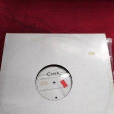Discos de vinilo: CHER - THE MUSIC'S NO GOOD WITHOUT YOU - DOBLE VINILO - MAXI - 12. Lote 202530310