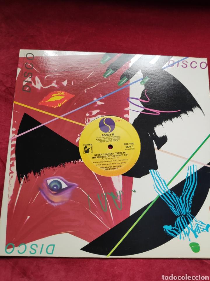 BONEY M - VINILO EDICIÓN AMERICANA - DANCING IN THE STREETS + NEVER CHANGE LOVERS IN THE MIDDLE ... (Música - Discos de Vinilo - Maxi Singles - Pop - Rock Extranjero de los 70)