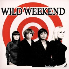 Disques de vinyle: WILD WEEKEND COSMETIC COUPLE (SINGLE) . PUNK ROCK THE ZEROS RUNAWAYS RAMONES L.A.. Lote 202534161