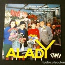 Discos de vinilo: ALADY (EP. HUMOR 1964) ALADY PASTORET - SEMPRE LA RAMBLA - QUIXOT'S QUARTET JAZZ PARALELO BARCELONA. Lote 202544660