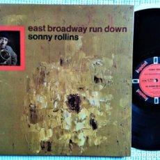 Discos de vinilo: SONNY ROLLINS - '' EAST BROADWAY RUN DOWN '' LP GATEFOLD ORIGINAL FRANCE 1966. Lote 202547470