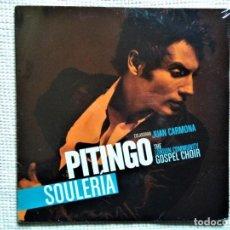 Discos de vinilo: PITINGO - '' SOULERIA '' 2 LP SPAIN 2008 SEALED. Lote 202548395