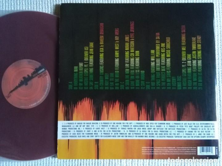 "Discos de vinilo: TALIB KWELI - EARDRUM 3 VINYL: 2 LP LIGHT BLUE + 12"" RED ORIGINAL 2007 USA - Foto 3 - 202549162"