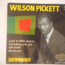 Discos de vinilo: LOTE WILSON PICKETT BELTER, 51.703 (1966) + OSCAR TONEY, JR. STATESIDE LSE 6033 (1967) SOUL. Lote 202559898