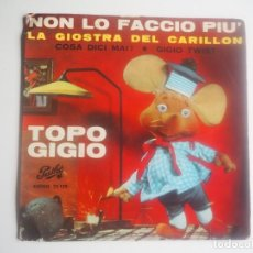 Discos de vinilo: INFANTIL TOPO GIGIO (EP PATHÉ, EMG, 25129 -1964) / LA ABEJA MAYA (PHILIPS, 6029415 -1977) BEATLES. Lote 202562096