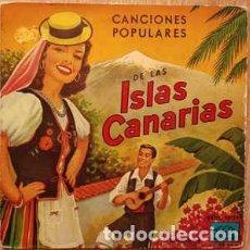 Discos de vinilo: LITA FRANQUIS Y EL CONJUNTO CANARIO DE JUAN CURBELO – CANCIONES POPULARES DE LAS ISLAS CANARIAS - EP. Lote 202565225
