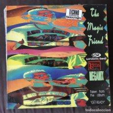 Discos de vinilo: 2 UNLIMITED - THE MAGIC FRIEND - 12'' MAXISINGLE BLANCO Y NEGRO 1992. Lote 202569761