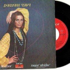 Discos de vinilo: DALIAH LAVI. CANCIÓN DE AMOR. MEJOR OLVIDAR. (VINILO SINGLE 1970). Lote 202572370