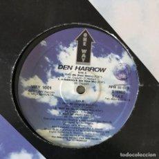 Discos de vinilo: DEN HARROW - TAKE ME - 12'' MAXISINGLE ONE WAY 1993. Lote 202577132